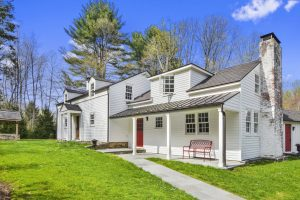 Custom Home with front porch in Westchester County NY
