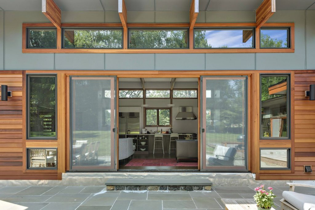 Custom home in Westchester County NY by builder Nordic Construction
