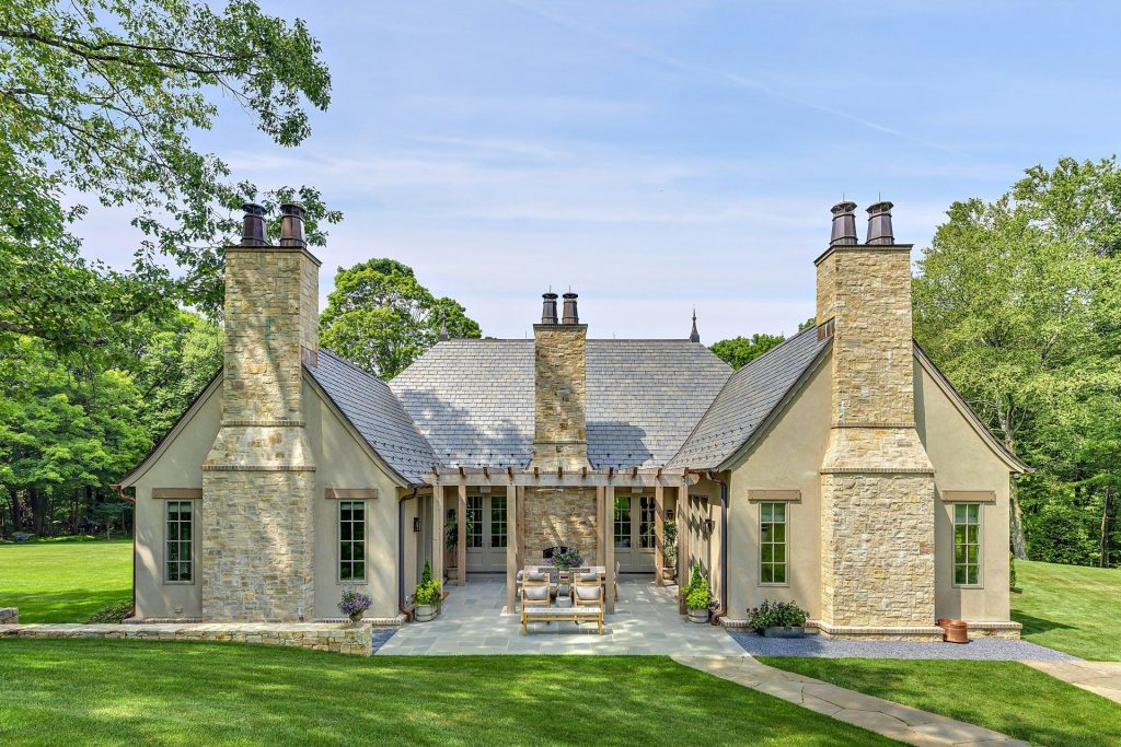 Custom home in Westchester County NY exterior