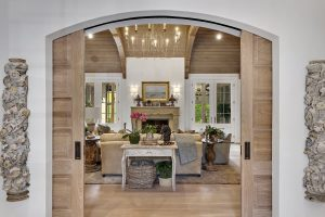 French Country Home interior by Nordic Construction in NY
