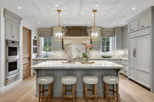 French Country Home kitchen in Pound Ridge NY